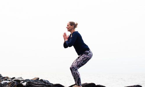 yoga krachtige houding